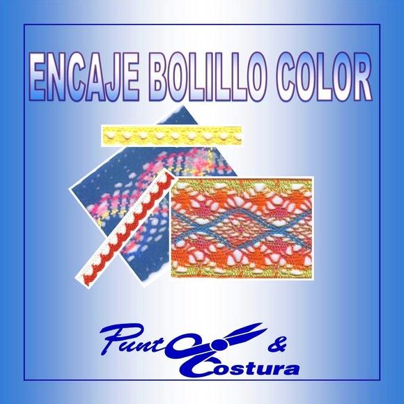 Encaje Bolillo Color: Catálogo de MANUEL RODRÍGUEZ MARTÍNEZ