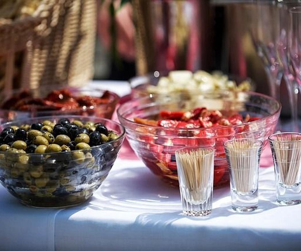 Los platos preferidos en un catering