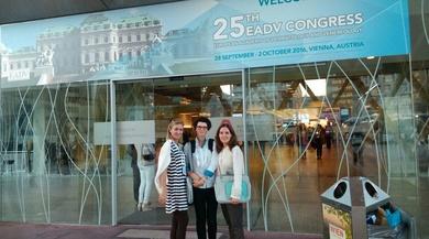 Desde Viena el 25 Congreso de la Academia Europea de Dermatologia