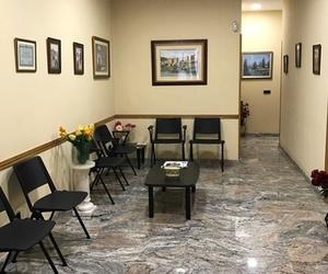 Sala de espera de la gestoría