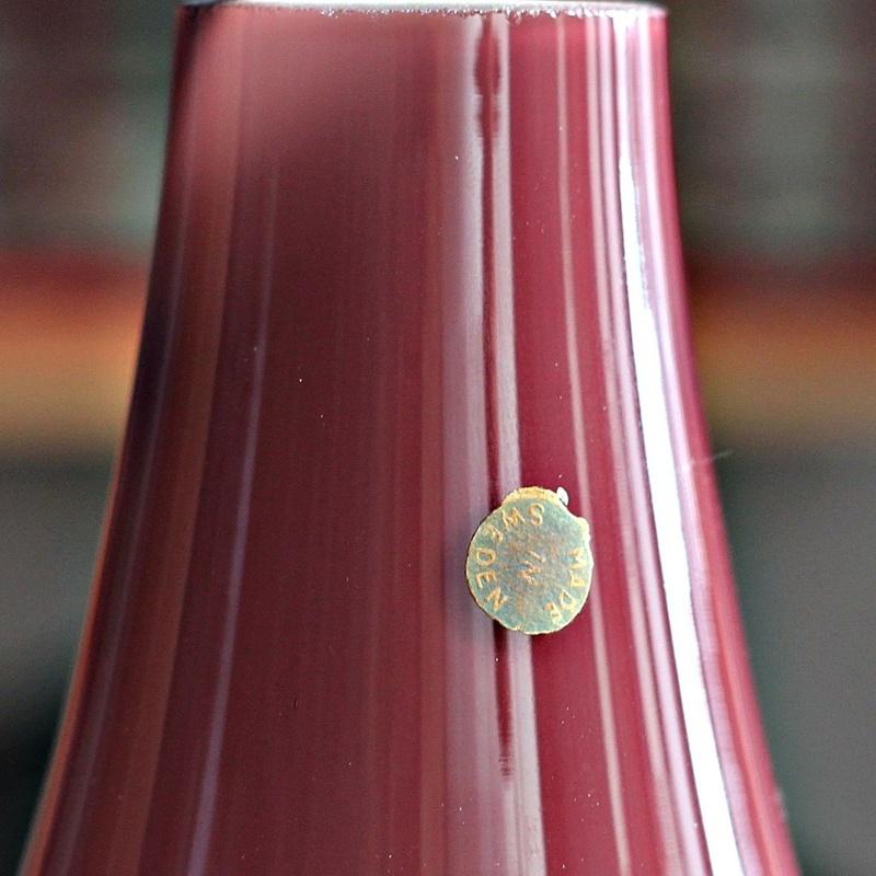 Lampara sueca de cristal de Murano REF: LAM381:  de Ruzafa Vintage