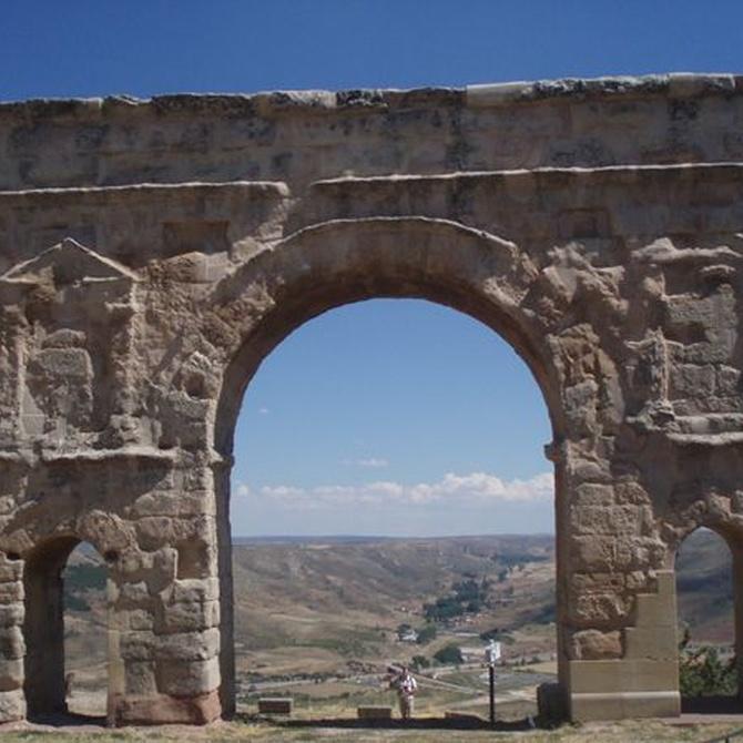 Un arco de triunfo romano a menos de dos horas de Madrid