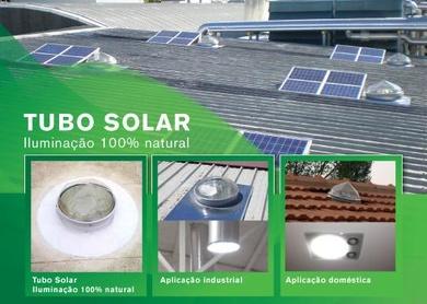 Distribuidores de tubo solar.