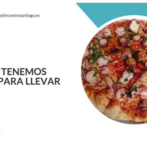 Comida para llevar en Santiago de Compostela