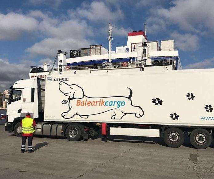 Trabajar con camiones de gas licuado