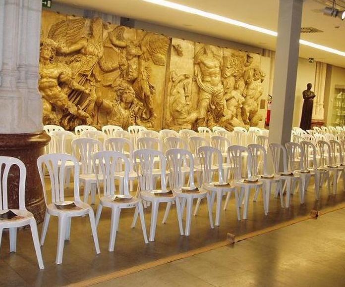 Garrotxa.: Alquiler de mobiliario de Stuhl Ibérica Alquiler de Mobiliario