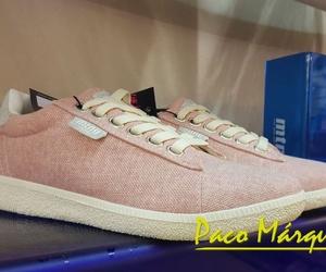 Zapatillas tela trenzada rosa Mustang