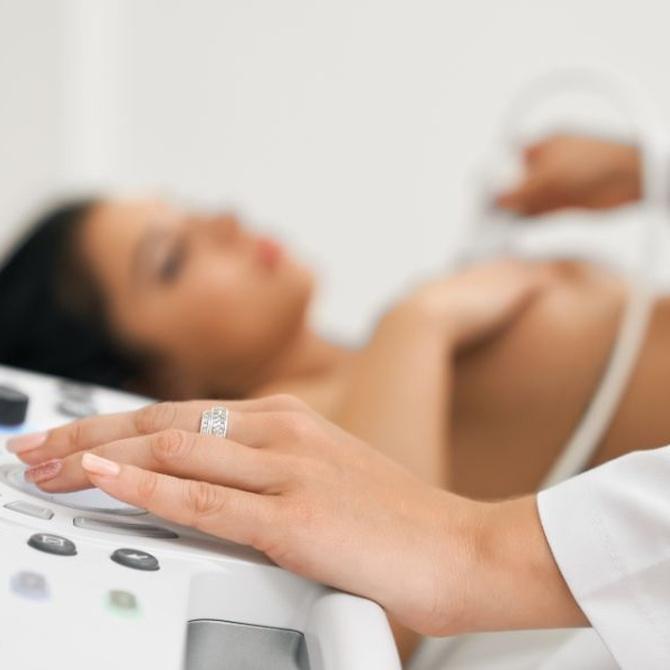 Las ecografías mamarias