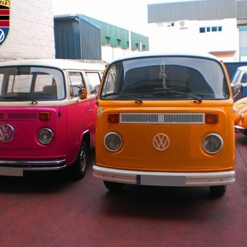 Reparación y restauración de Furgonetas VW T2 y T3
