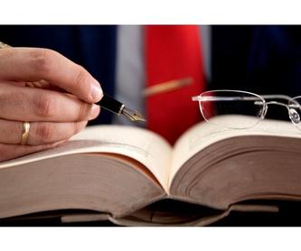 Reclamaciones: Servicios jurídicos de Pilar Blasco Lleonart