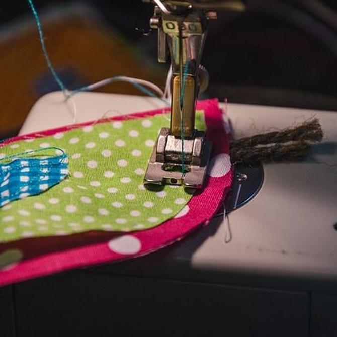 Las utilidades de una máquina de coser