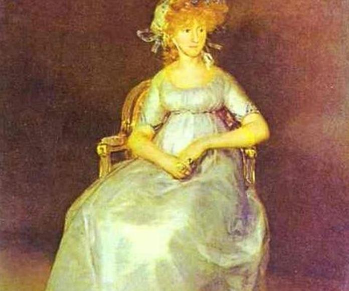 Retrato de la Marquesa de Chinchón.