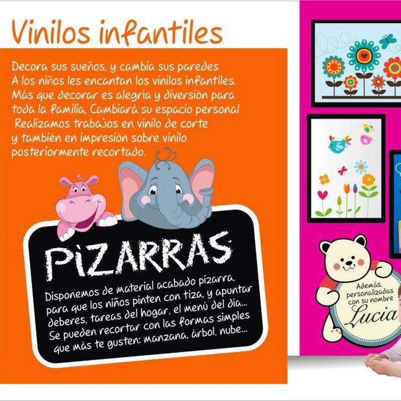 Vinilos infantiles: Productos de Graffiti Soria, S.L.
