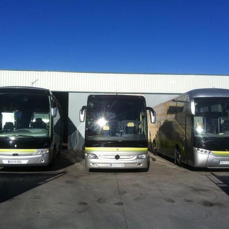 Alquiler de autobuses Granada