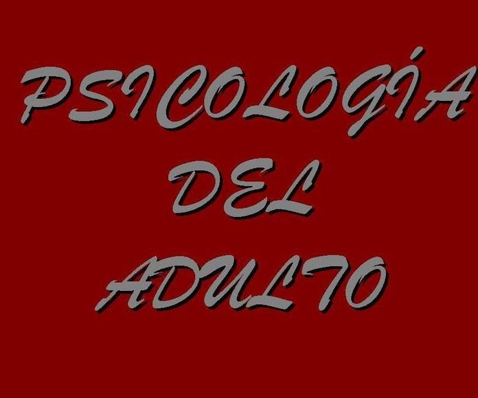 PSICOLOGÍA DEL ADULTO: SERVICIOS de Psicólogo Juan Fernando Pérez Ramírez