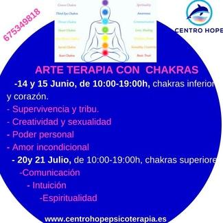 Activando y potenciando nuestros chakras mediante Arte Terapia- Curso intensivo
