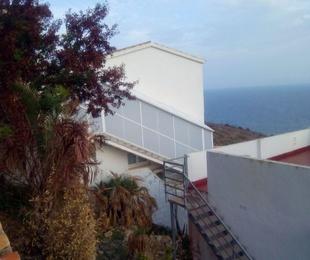 External staircase enclosure