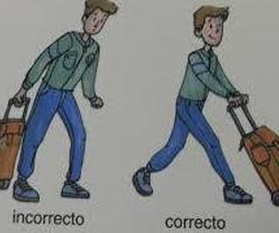 Como deben llevar los niños la mochila