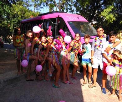 Discobus en La Linea de la Concepcion sorprende a tus invitados
