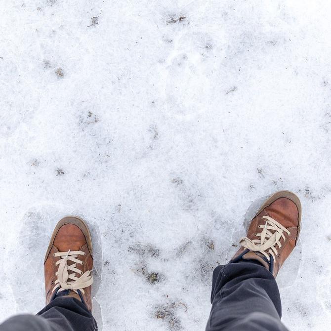 El invierno y la salud de los pies