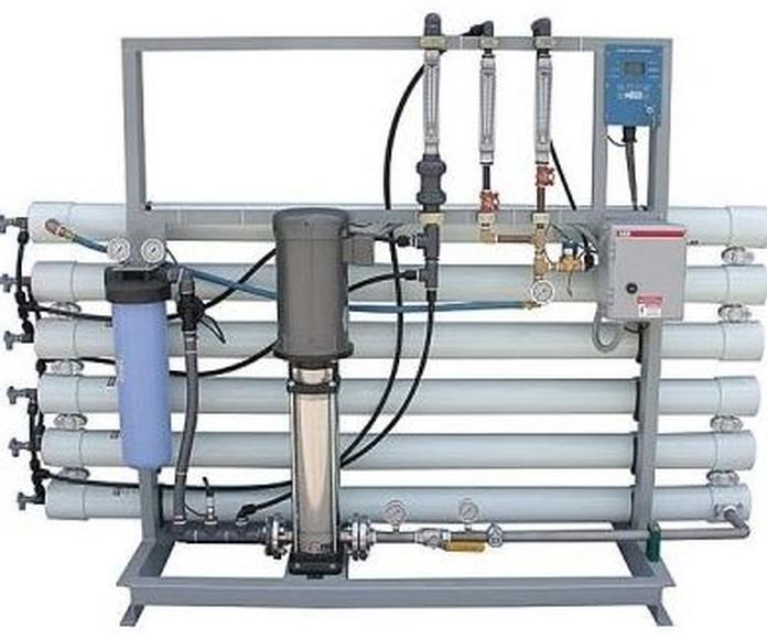 Instalación de osmosis inversa industrial: Servicios de Instalaciones Alba