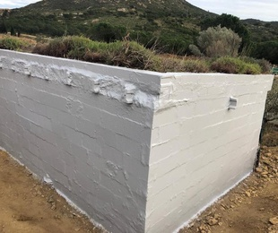 Impermeabilización de caseta de montaña