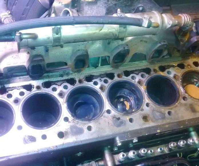 Pre-ITV - Reparación motores: Servicios de Talleres García Vadillo