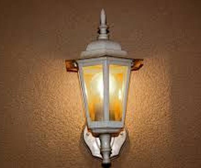 Iluminación exterior: Servicios de Iluminación Raquel