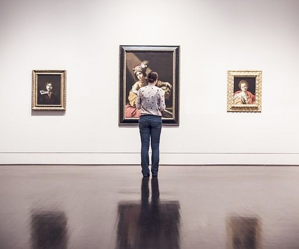 Marcos para una exposición de arte