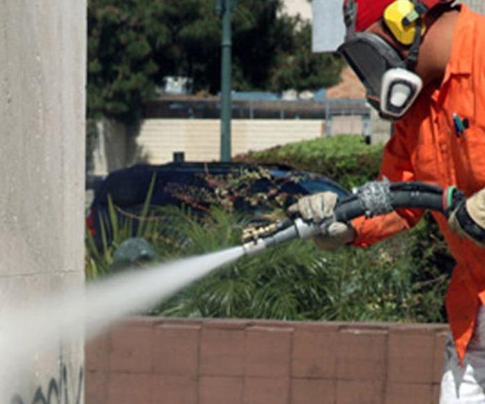 Limpieza de grafitis: Servicios de Julio Pérez Pérez