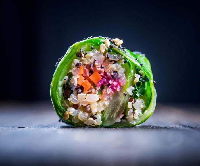 Quinomakis: Carta de Restaurante Happy Green
