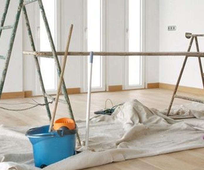 Trabajos de pintura exterior e interior: Nuestros servicios de Reconser Canro