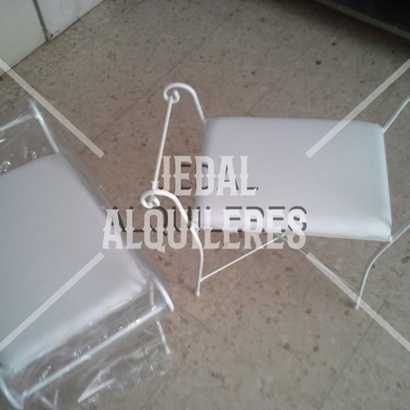 BANCOS FORJA BLANCOS: Catálogo de Jedal Alquileres
