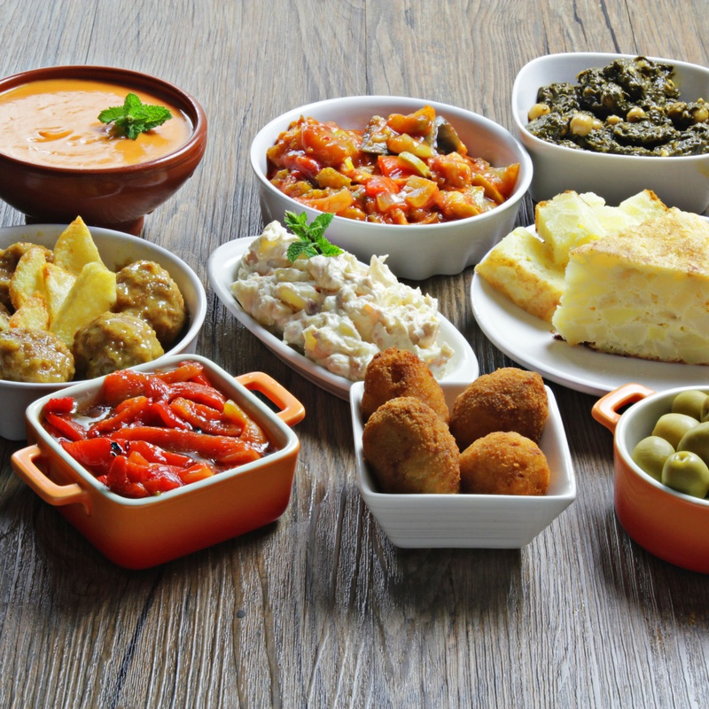 Tapas calientes: Productos de Restaurant Cal Marc