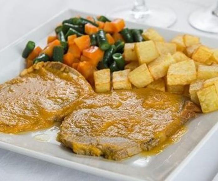 Carnes de Galicia: Carta de Verna's Restaurante