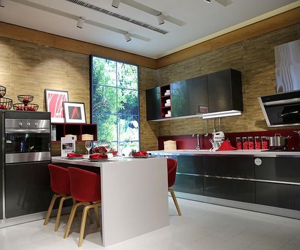 Muebles para cocinas en espacios abiertos