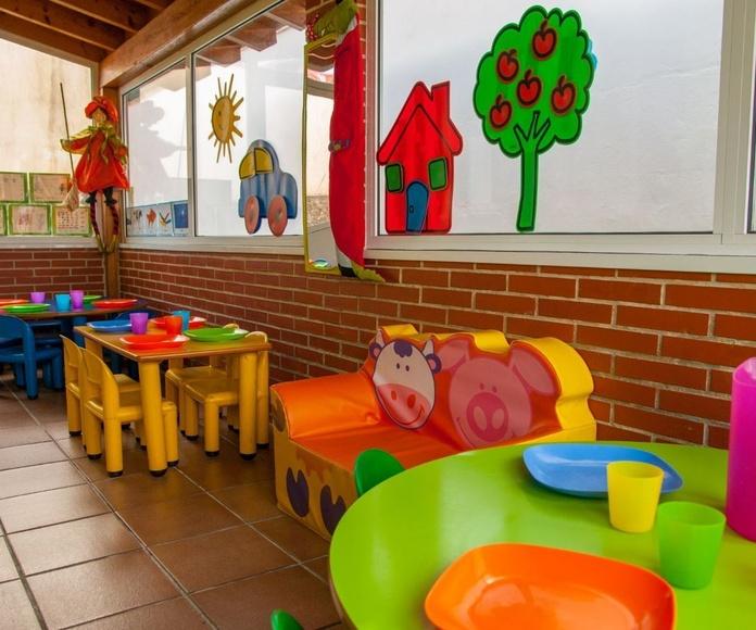 Servicio de recogida y comedor guardería Mikole. Colegio Sagrada Familia