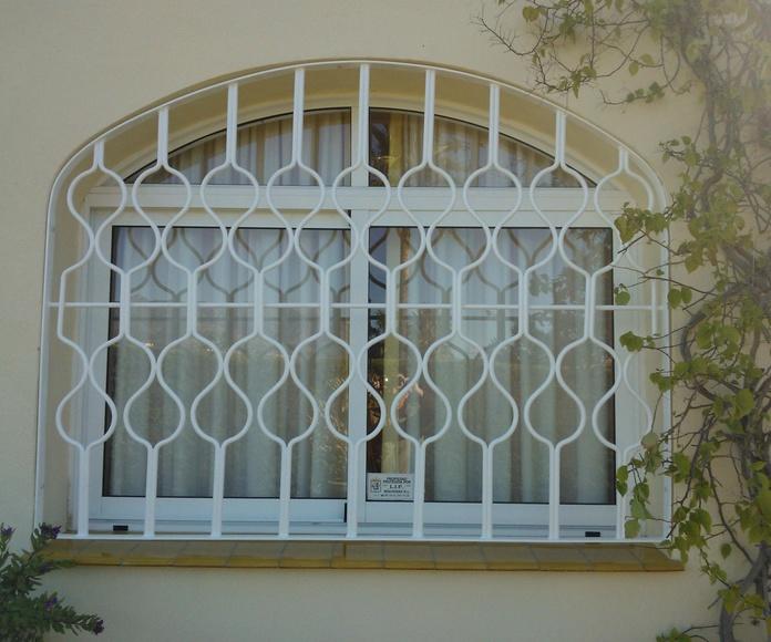 REJAS GALVANIZADAS: Catálogo de Aluminios Aludecor Marbella