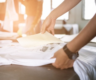 Estampación textil