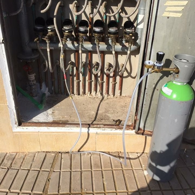 Localización de fugas de agua con gas traza: Nuestros servicios de J.A. Fontaneros