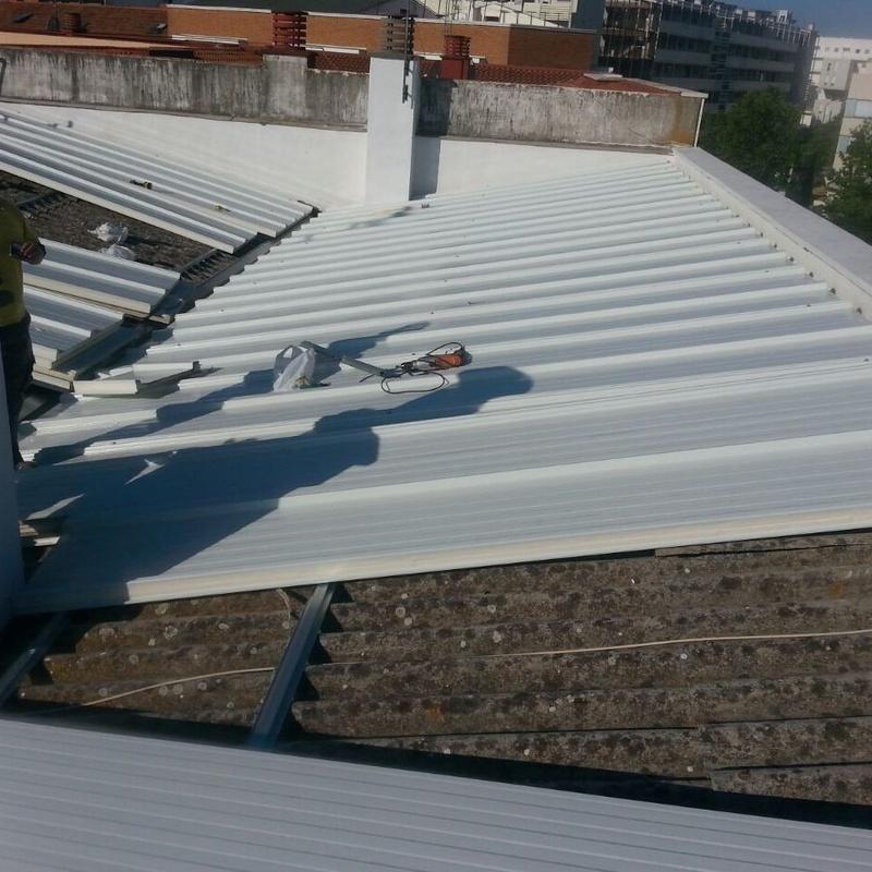 Rehabilitación de tejados y cubiertas: Servicios de Pedro Vertical