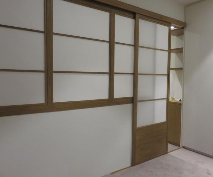 Mobiliario estilo japonés y puertas shoji: Servicios de Pak Of Shume, Muebles de madera