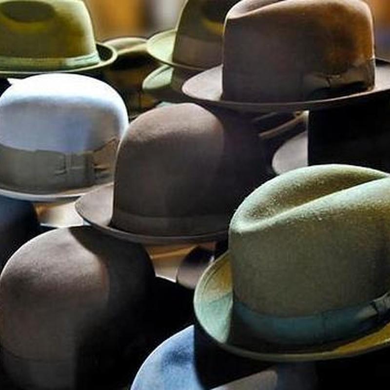 Sombreros en Santiago de Compostela