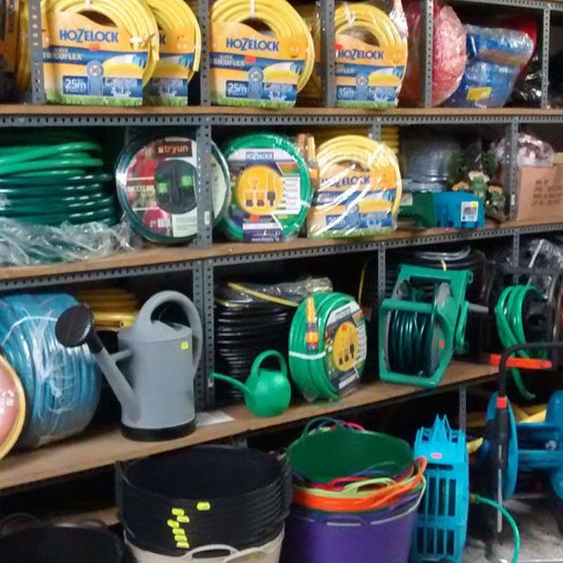 Productos y material de jardinería en Badajoz