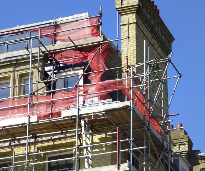 Saneamiento de fachadas: Servicios de reformas de Reformas Urgull