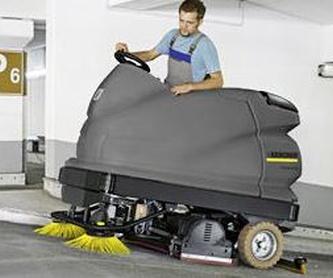 Productos Karcher: Productos y Servicios de Tecarral Carretillas