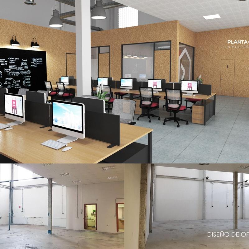 Proyectos de Reforma integral de viviendas o locales comerciales : Servicios  de Arquitectura e Ingeniería Planta Gráfica Estudio