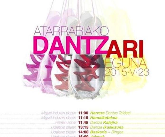 Atarrabiako Dantzari Eguna!!! 23 - Mayo - 2015