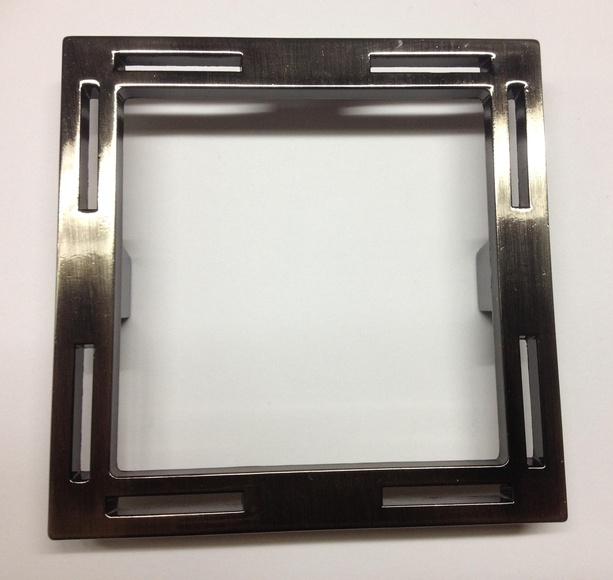 Tirador cuadrado de 108x108mm.: Catálogo de Herrajes Franpe