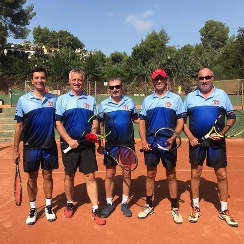 Campeonatos de tenis por equipos en Benissa